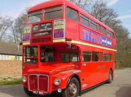 London Routemaster Bus for weddings in London